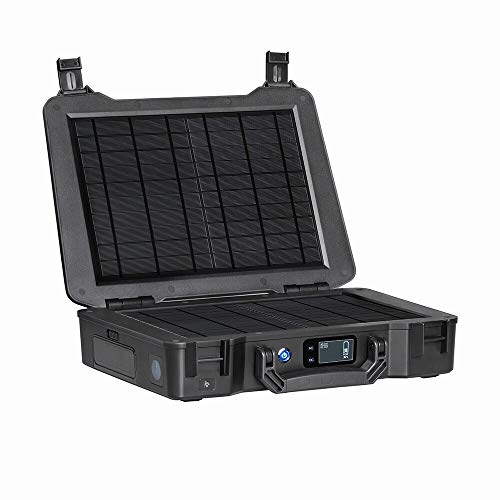 Renogy Phoenix 210Wh/150W Portable Generator All-in-one Solar Kit for Outdoors Camping Travel Emergency Off-grid Applications, with 20W Built-in Solar Panel