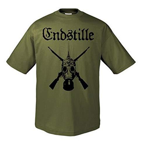 ENDSTILLE - Endstille 2013 Olive - T-Shirt - Größe Size L