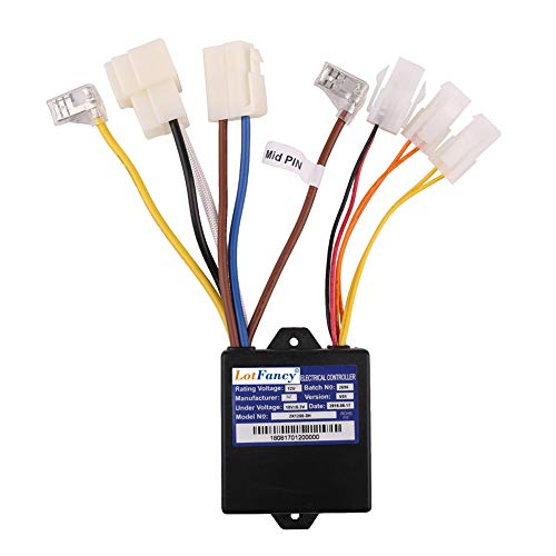 LotFancy 12V Controller with 7 Connectors for Razor Power Core E90 Only, Model No: ZK1200-DH
