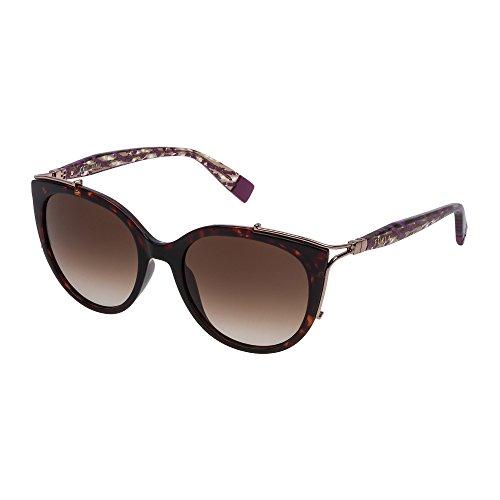 Furla Damen SFU151-0722 Sonnenbrille, Havana, 54/20/130