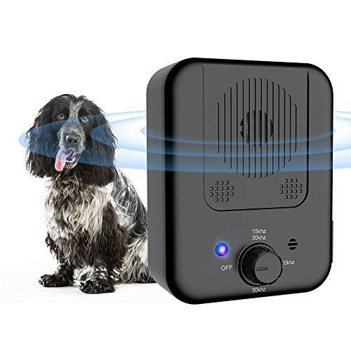 Queenmew Akustische Anti-Bell-Mittel, Stop Dog Barking Gerät, Ultraschall Anti Barking Gerät