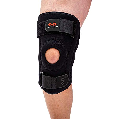 McDavid 421 Level 2 Knee Support with Stays, Black, Medium
