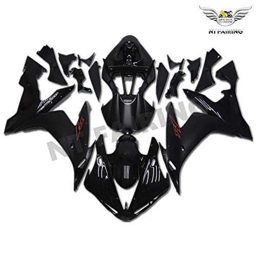 NT FAIRING Glossy Matte Black Injection Mold Fairing Fit for Yamaha 2004 2005 2006 YZF R1 R1000 YZF-R1 New Painted Kit ABS Plastic Motorcycle Bodywork Aftermarket