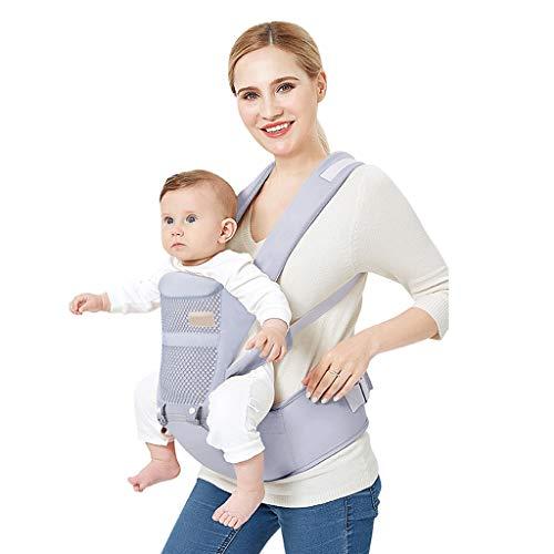 Sangle de Taille pour bébé, Banc d'absorption des Chocs Amovible en Coton Multifonction Quatre Saisons ( Color : A )