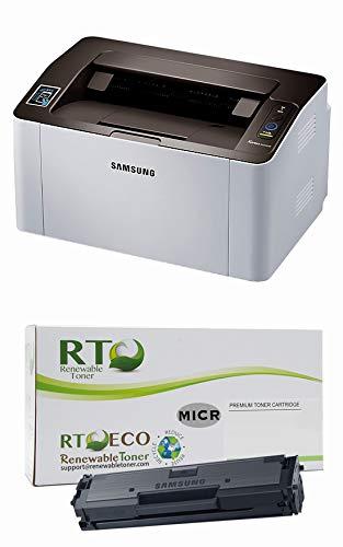 Renewable Toner M2020w Laser Check Printer Bundle with Compatible Samsung D111S MICR Toner