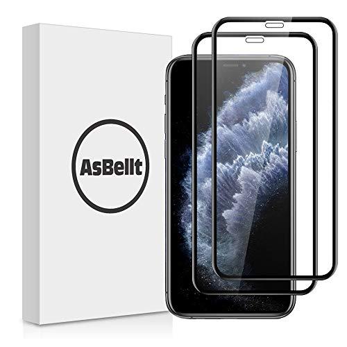 AsBellt Protector Pantalla de iPhone XS MAX (3D Cobertura) (9H Dureza)