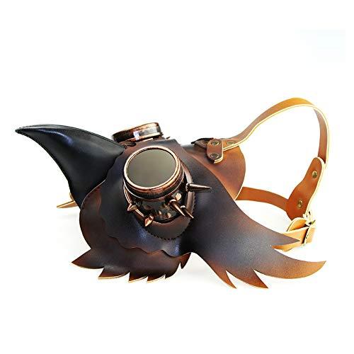 Plague Doctor Mask Maschera medievale Steampunk Halloween Costume in maschera Costume cosplay