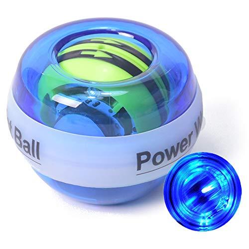 ZTKBG Type en Plastique de la lumi/ère LED de Pratique de perfectionnement de Bras de Boule de gyro de rotateur de rotateur de rotateur de Poignet