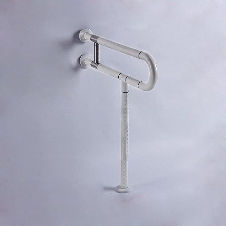 KHSKX 304 stainless steel bathroom grab thickened, elderly safety handrails, barrier-free bathroom anti-slip handles