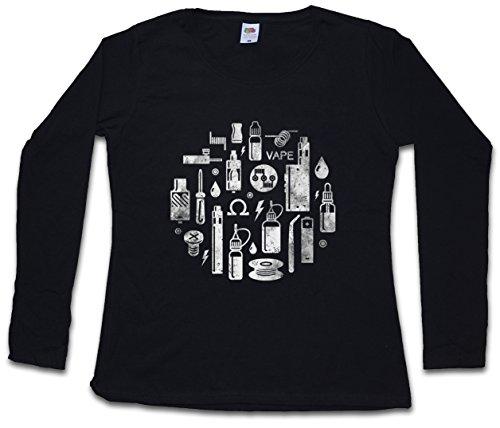 Urban Backwoods Vape II Women T-Shirt Mujer Camiseta de Manga Larga