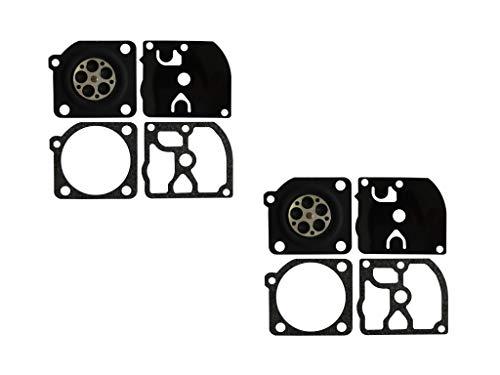 C·T·S Vergaserdichtung und Membran-Kit für ZAMA Vergaser Stihl MS210/230/021/025 Mc Culloch PM 3505 Eager Beaver (2 Stück)