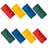 Kid Cute Hooks for Girls and Boys, Adhesive Wall Hooks for Hanging, Strong Decorative Hangers, Colorful Plastic Multifunctional Hooks for Backpack,Key,Fit for Kid's Room Home Kitchen-4PCS