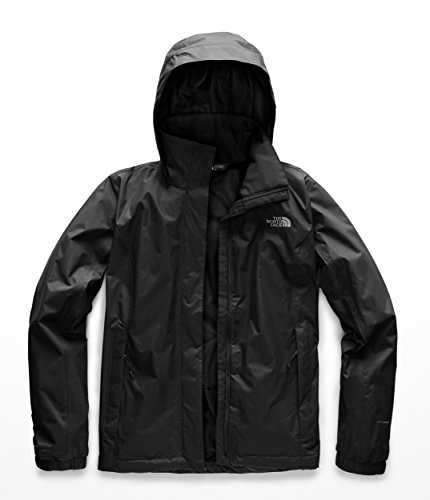 The North Face W Resolve Jkt, Giacca Impermeabile Donna, Nero (Black), L
