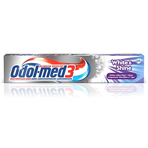 Odol-med3 White und Shine Zahnpasta, 75ml