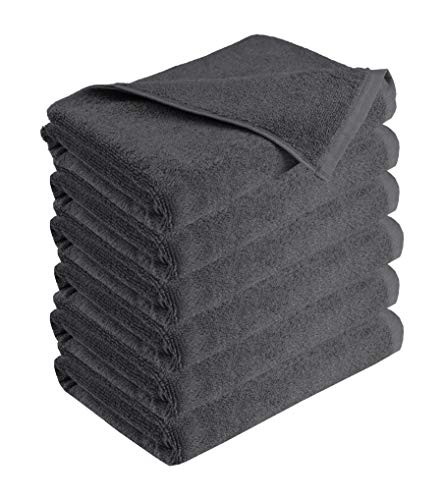 GLAMBURG 100% Cotton 6 Pack Bath Towel Set, Ultra Soft Bath Towels 22x44, Towels for Gym Yoga Pool Spa, Quick Drying  Colorado