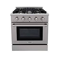 THOR KITCHEN HRG3080U GAS RANGE REVIEW by Zaatarn Shop
