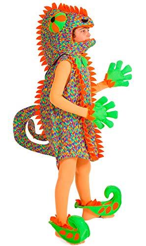 Disfraces Nines - Disfraz de Camaleón Infantil Talla 3-5 Años
