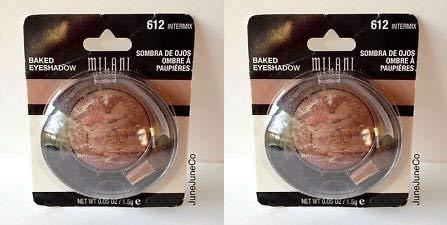 Milani Baked Eyeshadow Marbleized, 612 Intermix (2 Pack)