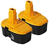 VANTTECH 2Pack <span class='highlight'>3.0Ah</span> <span class='highlight'>Ni</span>-<span class='highlight'>MH</span> <span class='highlight'>DC9096</span> Replacement Battery for Dewalt <span class='highlight'>18V</span> Battery for Dewalt DE9098 DE9503 DE9039 DE9095 DE9096 DW9096 DW9095 DW9098 DC725