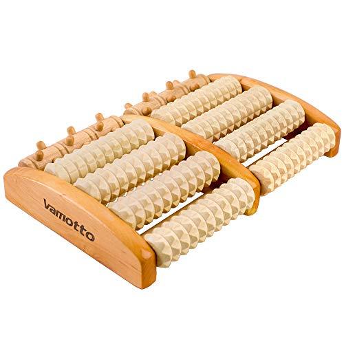 Massage-Therapie-Gesundheits-Körper-Reflexzonenmassage-Holz-Stick-T UE