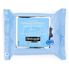 Neutrogena Makeup Remover Cleansing Towelettes, 114 Count