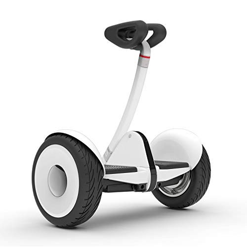 Segway Ninebot S Smart Self-Balancing Electric Scooter with LED light, Portable and Powerful, White ,Large