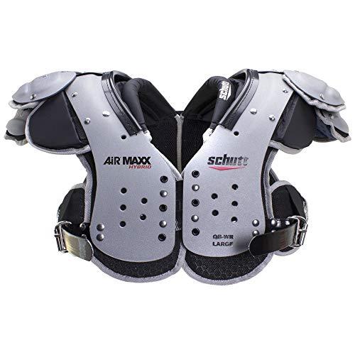 Schutt Sports AiR MAXX Hybrid Varsity Football Shoulder Pads, Medium, Quarterback/Wide Receiver