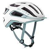 Scott 275195 - Casco de Bicicleta Unisex para Adulto, PE WH/STR bl, L