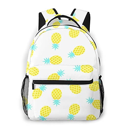 USGYY Rucksack Männer und Damen Ananas Zitrus, Laptop Rucksäcke, Kinderrucksack Schulrucksack Daypack für Jungen Mädchen