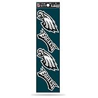 NFL Rico Industries Die Cut 4-Piece The Quad Sticker Sheet, Philadelphia Eagles