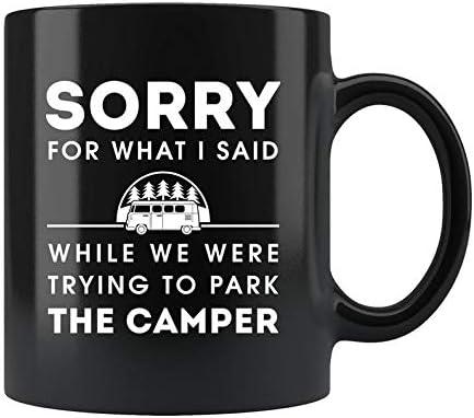 Funny Camper Gift Camping Inventory Elegant cleanup selling sale Mug