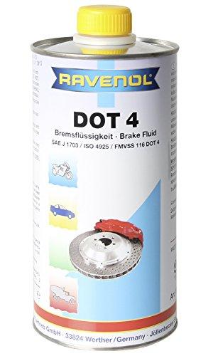 RAVENOL Dot 4 Liquide de Frein, 1 Litre