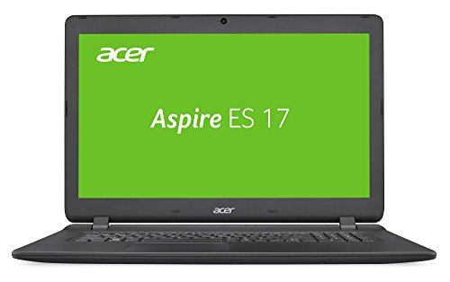 Acer Aspire ES 17 (ES1-732-P98P) 43,9 cm (17,3 Zoll, HD+) Multimedia Laptop (Intel Pentium N4200, 4 GB RAM, 256 GB SSD, Intel HD, Win 10) schwarz