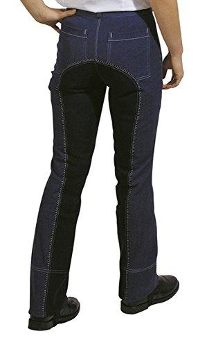 HKM SPORTS EQUIPMENT Jodhpur-Reithose -Jeans-, Farbe:dunkelblau/dunkelblau, Groesse:158