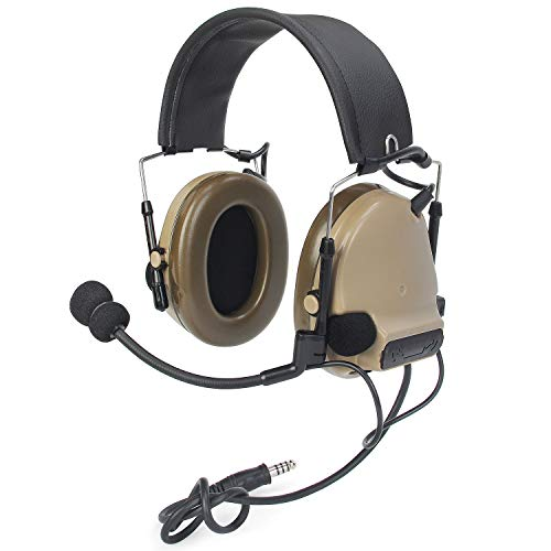 【ZTAC technology for hearing】ZComtacIII3(ZComtacII2 Upgraded)Z-Tactical Headphone G:1 Non-Mil-Spec Noise Canceling Sound Collection Soundproof earphone Z051-DE