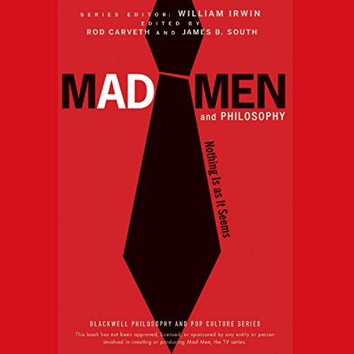 Mad Men and Philosophy audiobook cover art
