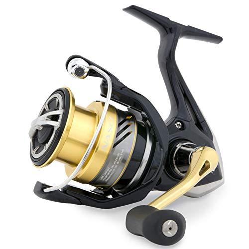 Shimano Nasci 500 FB, Carrete de Pesca con Freno Delantero, Nas500Fb