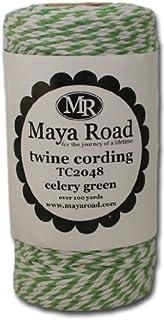 Maya Road TC2048 Baker's Twine Cording, Celery Green