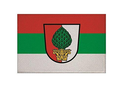 U24 Aufnäher Augsburg Fahne Flagge Aufbügler Patch 9 x 6 cm