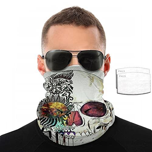 Shenle Skull41 Maschera per il viso Sorriso Maschera Foulard alla moda sempre cambiante Foulard Outdoor Festival Uomo e Donna Sport