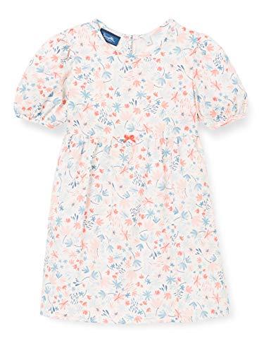 Sanetta Baby-Mädchen beige Kleid, White Whisper, 86