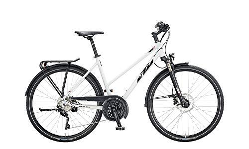 KTM Veneto Light Disc Damenfahrrad 30 Gang Trekkingrad 2020, Rahmenhöhe:51 cm, Farbe:weiß