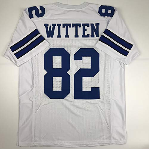 Unsigned Jason Witten Dallas White Custom Stitched Football Jersey Size Men's XL New No Brands/Logos