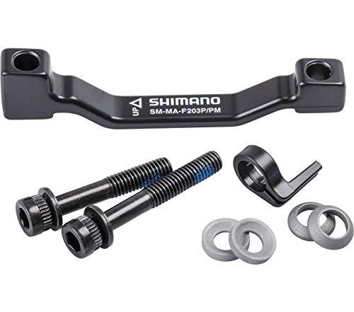 Shimano Scheibenbrems-Adapter 203 mm von PM auf PM (180mm)