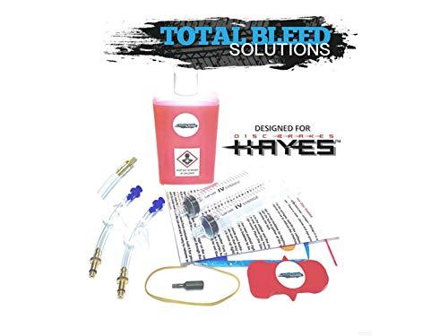 Kit de purga de frenos hidráulicos TBS Hayes Radar + aceite mineral...