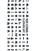 igsticker ポスター ウォールステッカー シール式ステッカー 飾り 257×364㎜ B4 写真 フォト 壁 インテリア おしゃれ 剥がせる wall sticker poster 015585 服 アイコン バッチ
