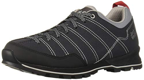 Jack Wolfskin Herren Scrambler Low M Walking-Schuh, Phantom/Light Grey, 43 EU