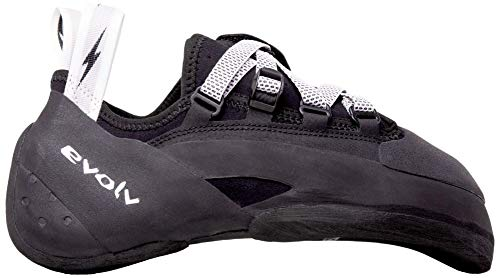 Evolv Phantom Climbing Shoe - Men's Black/White 9