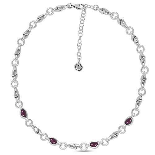 Ciclon Collar Cristal de Murano Morado. 01062222