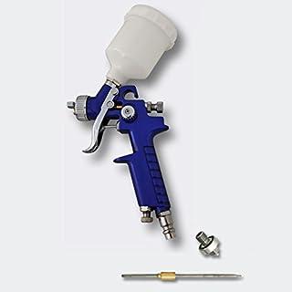 Pistola de lacar HVLP rociadora pulverizadora H2000 con boquillas 0,8 y 0,5 mm Pistola de pintar